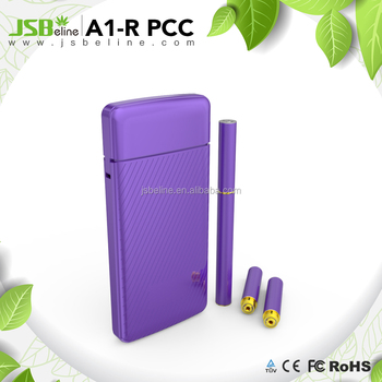 2018 new arrival refillable rechargeable 1250mah capacity pcc e-cigarette
