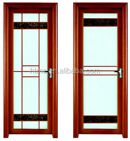 Frosted Glass Apartment Bathroom Doors Model HT--0055
