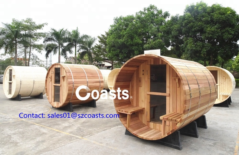 Hot selling New outdoor barrel sauna at Factory Price