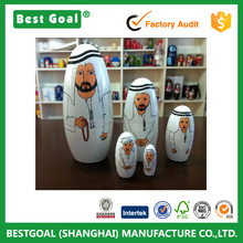 Saudi Arabia Style New Russian Doll Set of 5