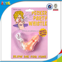 Funny sexy toy for adult party novely sexy whistle