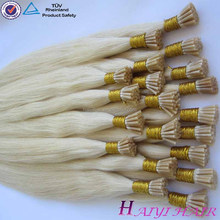 Direct Factory Fashionable Remy Hair remy european round tip hair extension