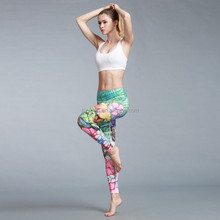 Plus Size High Quality Soft Tight Women Baby Fitness Bulk Printed Gym Leggings