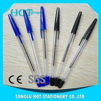 China new products neutral refill or ballpen refill pad printing mini ball pen