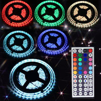 Energy saving DC12V battery powered led strip light 5050