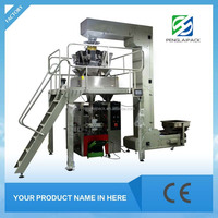 High capacity automatic modified atmosphere packing machine for chips snack food