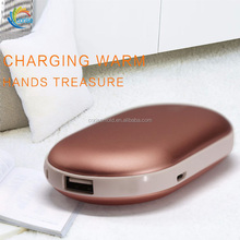 5200mAh Hand Warmer Power Bank with Heating Chip New Portable Battery Charging for Moblie Devices