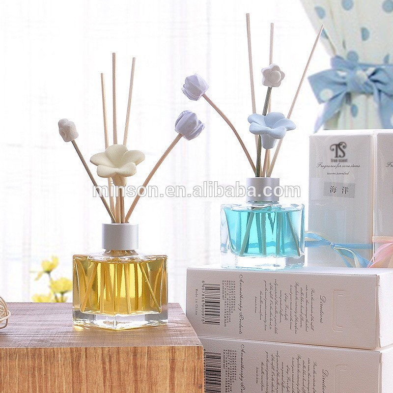Aroma Diffuser Bottle ~ Ml clear glass bottle aroma essential oil diffuser reed