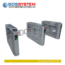 security door systems swing turnstile with barcode scanner/supermarket swing gate
