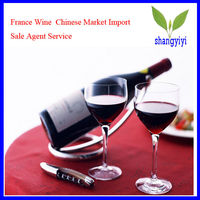 France Wine Chinese Market Import Sale Agent Service
