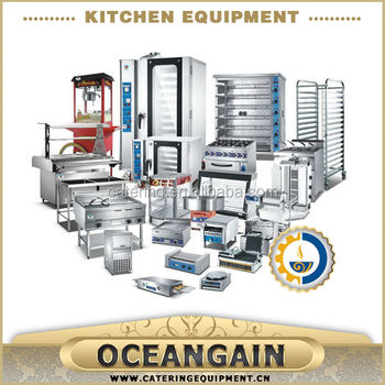 Stainless Steel Restaurant Commercial Kitchen Equipment