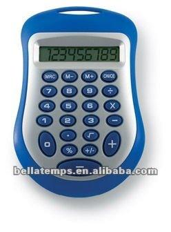 Pocket Calculator with lanyard