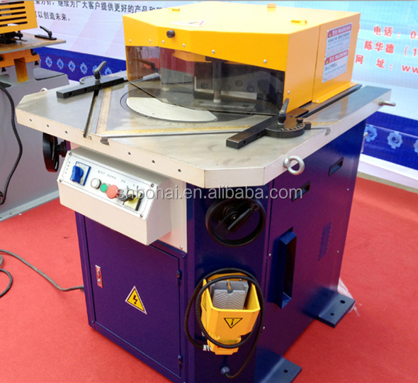 QFB 4x2500 Adjustable Angle Cutting Machine Hydraulic Corner Notcher
