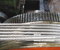 Galvanized Steel Stranded Stay Wire Guy Wire Earth Wire ASTM A 475/ASTM A363