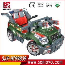 New children off-road Electric baby car green & red baby ride on car with RC HT-99839