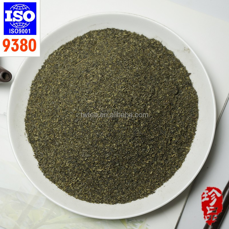 2016 cheap black tea dust and green tea powder/fannings