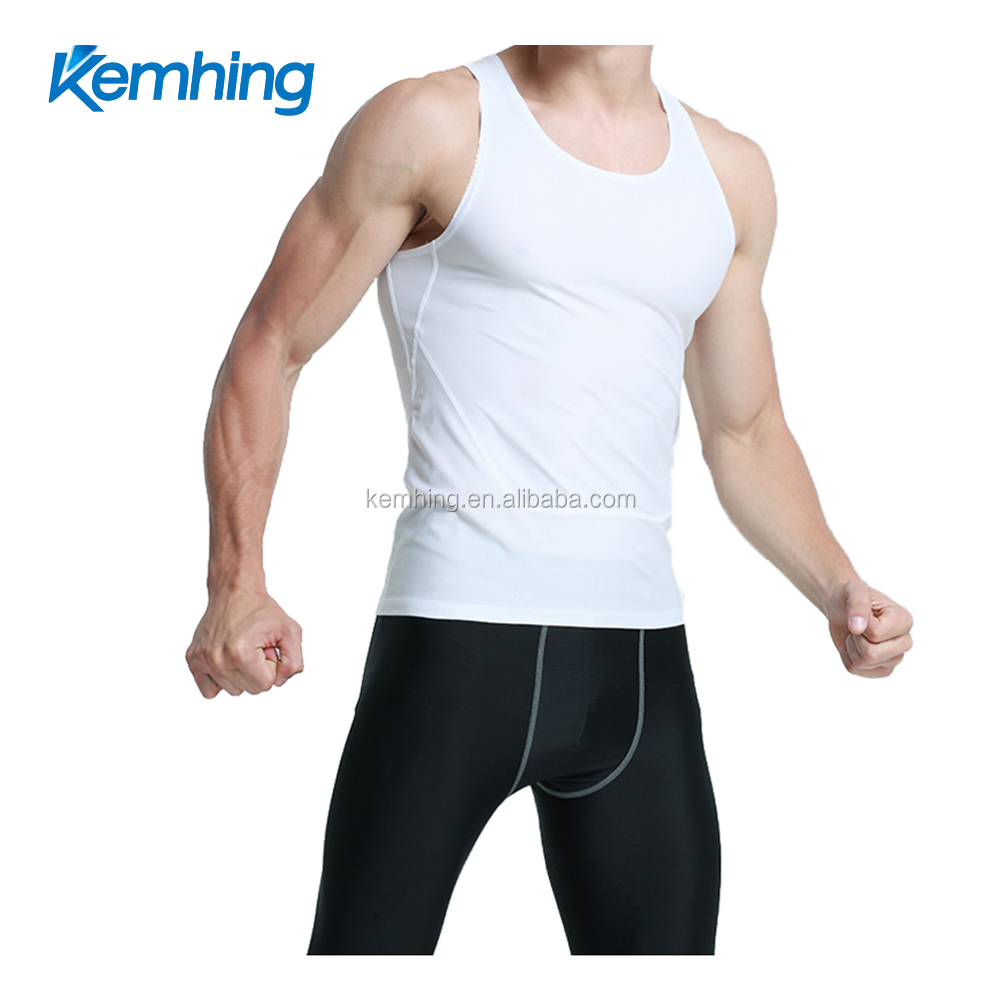 lycra gym wear tanktop fitness Sport Dri Fit Slim Tit Sportwear gym clothing custom tank top men