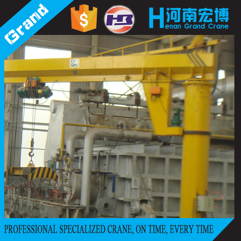Small Lift Crane BZ Jib Crane/360 Degree Cantilever Swing Arm Crane