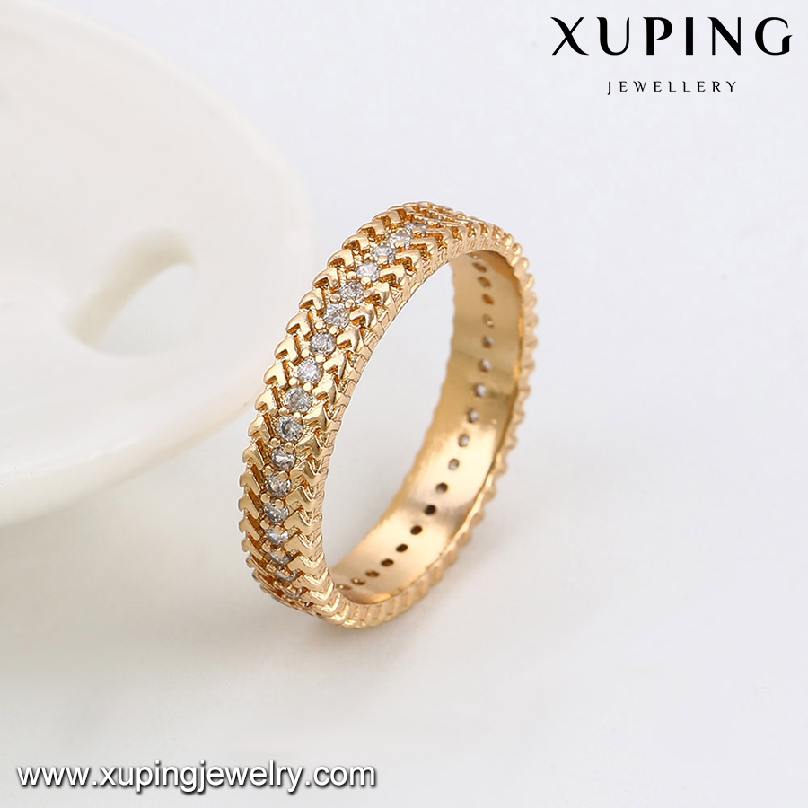 14055-Xuping Hot selling promotional gold finger ring