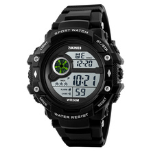 SKMEI 1280 Wholesale Fashion <strong>Watches</strong> Mens Casual Sport Digital Electronic Wristwatch