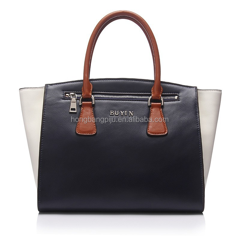 Newest Design Wholesale In China Lady Genuine Leather Handbag