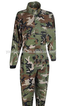 Supply working uniform winter camouflage coveralls