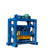 Building equipment manual hand press brick making machine