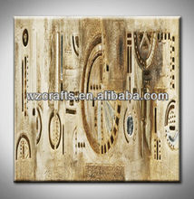 religion symboll wall art oil painting 3D effect