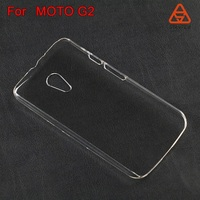 Cheap transparent mobile phone cases from competitive factory for MOTOROLA G2 cover