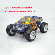 2.4G 4WD 1/10 scale Brushless Electric RC Monster truck 94111 for wholesale