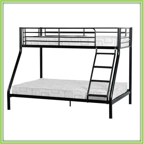 Cheap metal triple bunk beds sale made in china buy for Cheap bunk beds for sale
