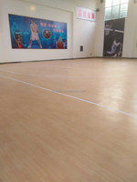 wood design practical indoor pvc basketball floor