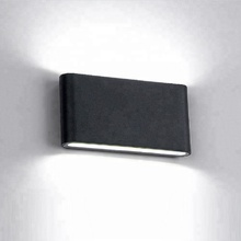 Modern up and down wall light led exterior stair bracket lamps for hotel decor