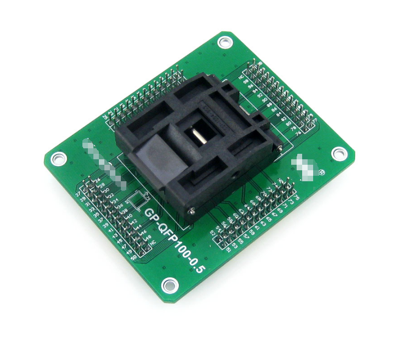 GP-QFP100-0.5 IC Test Socket and Programming Adapter for QFP100 TQFP100 LQFP100 package