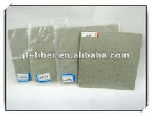 Metal fiber felt for viscosity polymer filtration