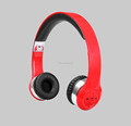 Stereo Bluetooth Wireless foldable headband travelling headphones with mic easy carry
