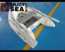 PVC material small inflatable rubber dinghy boat made by hand