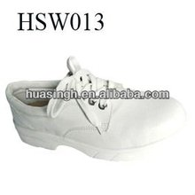 2014 Hot Selling Real Injection Lace Up Casual White Working Shoes, nurse shoes, lab shoes