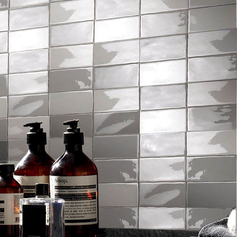 Chinese wholesale super kitchen bathroom Wave-like Edge ceramic subway <strong>tiles</strong>