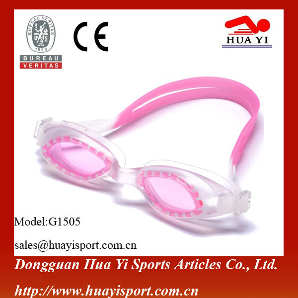 Adult size best logo printed custom oem design swimming goggles