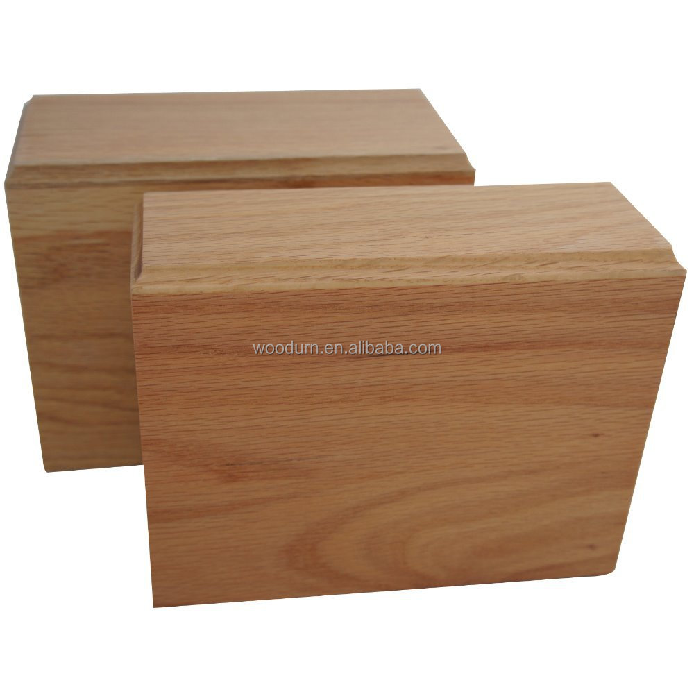 Makey's Top Quality <strong>Oak</strong> Wood Pet Cremation Urn