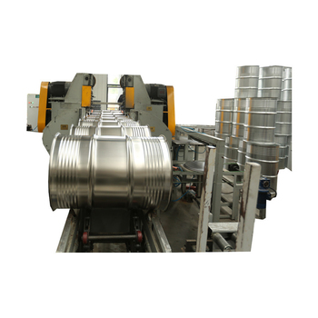 Automatic production steel drum making line for steel barrel