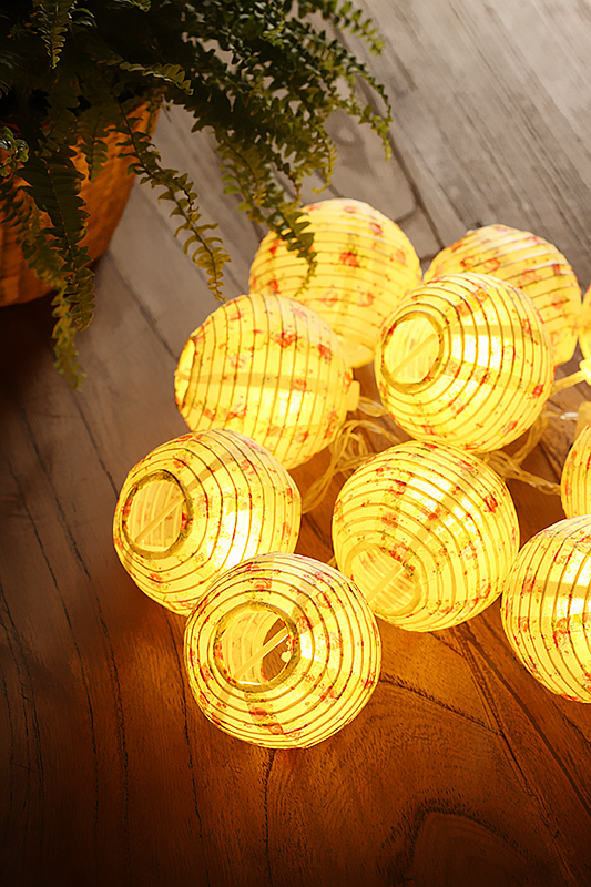 Led String Lights For Paper Lanterns : Battery-operated Led Paper Lantern String Lights - Buy Chinese Lantern Led String Lights,Battery ...