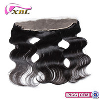 XBL Unprocessed Virgin Hair Wholesale Body Wave Lace Front Closure