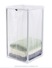 1Bag Mesh Laundry Hamper/ Mesh Laundry Sorter