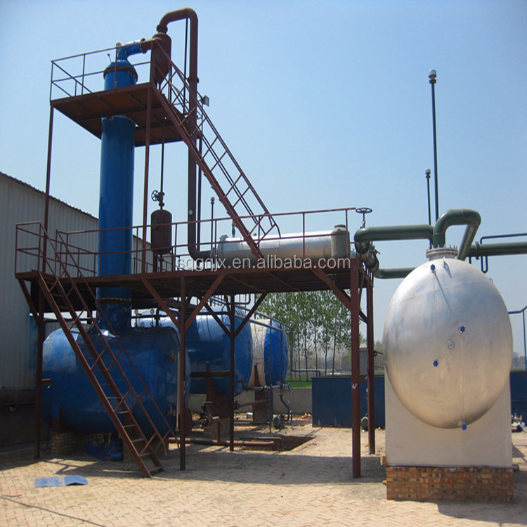 85% recovery used lubricants oil recycling plant