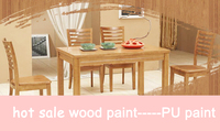 high performance polyurethane coating/transparent PU primer paint for furniture paint