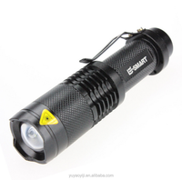 SK98 3 mode XM-L2 18650 battery zoom rechargeable high power led flashlight