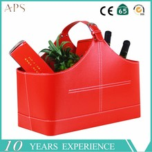Wholesale High Quality Red Wicker Small Gift Baskets for Christmas