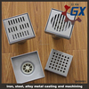 Floor drain stainless steel area drains cover plate